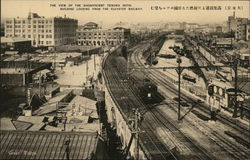 Teikoku Hotel from Elevated Railway