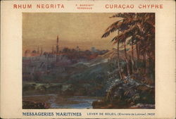 Advertisement for the Liquor Curacao Chypre
