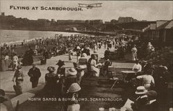 North Sands & Bungalows Postcard