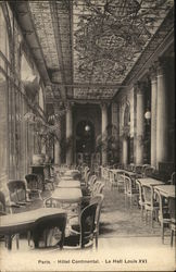 Hotel Continental - Le Hall Louis XVI