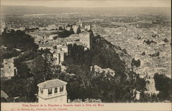 General View of the Alhambra from Silla del Moro