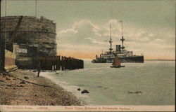 Round Tower, Entrance to Portsmouth Harbour