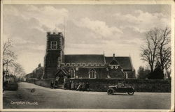 Campton Church Postcard