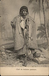 Chief of the Bedouin shephards
