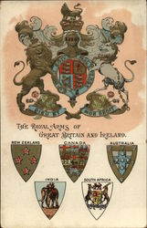 The Royal Arms of Great Britain and Ireland Postcard