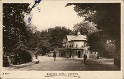 Burford Hotel Postcard