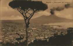 View of City towards Mount Vesuvius