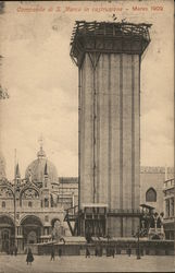 Construction of St Mark's Campanile