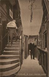 Ye Olde Cheshire Cheese - The Staircase