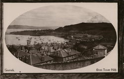 Gourock (from Tower Hill) Postcard