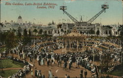 Elite Gardens, Latin-British Exhibition, London 1912