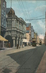 Guildhall and High Street Postcard