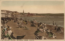 Bathing Station, Weymouth Sands