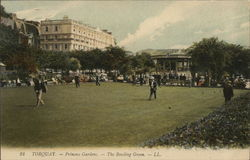 Princess Gardens, The Bowling Green Postcard