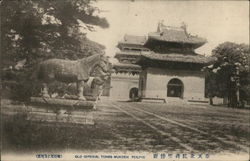 Old Imperial Tombs, Mukden Postcard