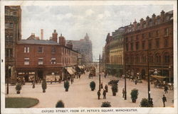 Oxford Street from St. Peter's Square Postcard