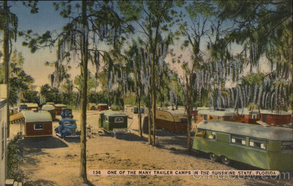One of the Many Trailer Camps in the Sunshine State Florida