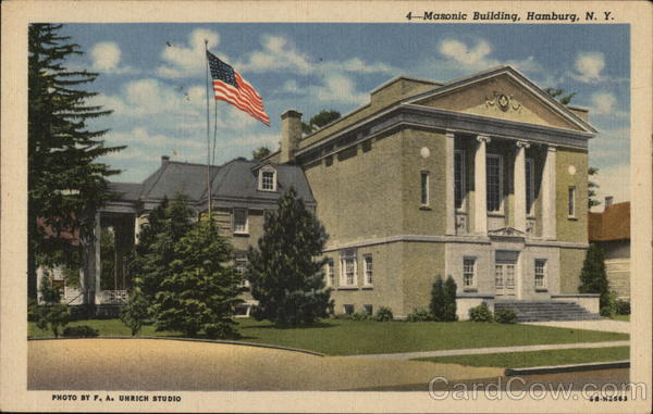 Masonic Building Hamburg New York