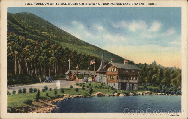 Toll House on Whiteface Mountain Highway Wilmington New York