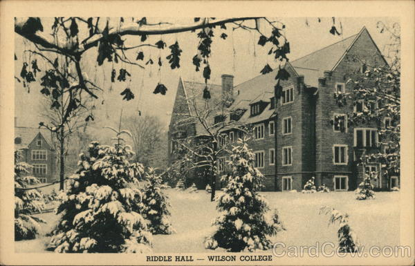 Riddle Hall - Wilson College Chambersburg Pennsylvania