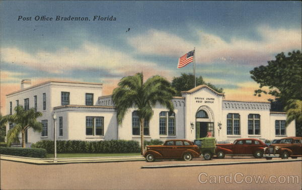 Post Office Building Bradenton Florida