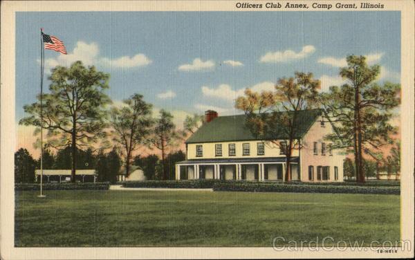 Officers Club Annex Camp Grant Illinois