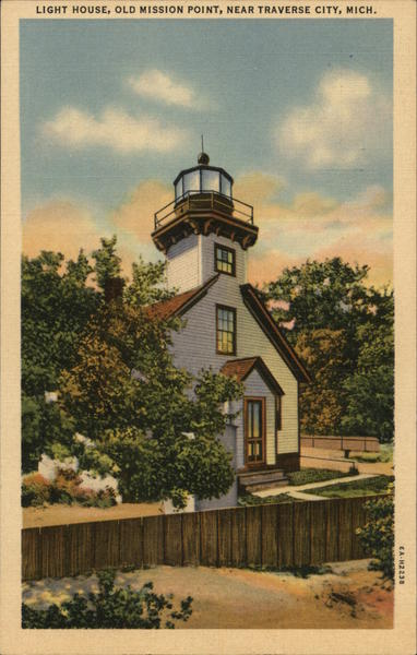 Light House, Old Mission Point Traverse City Michigan