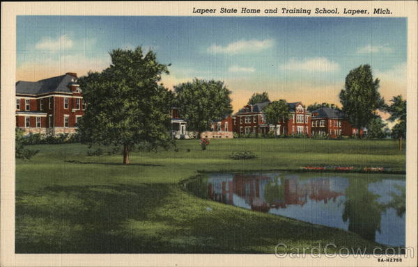 Lapeer State Home and Training School Michigan