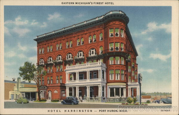 Hotel Harrington Port Huron Michigan