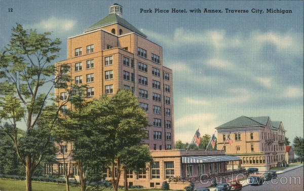 Park Place Hotel with Annex Traverse City Michigan