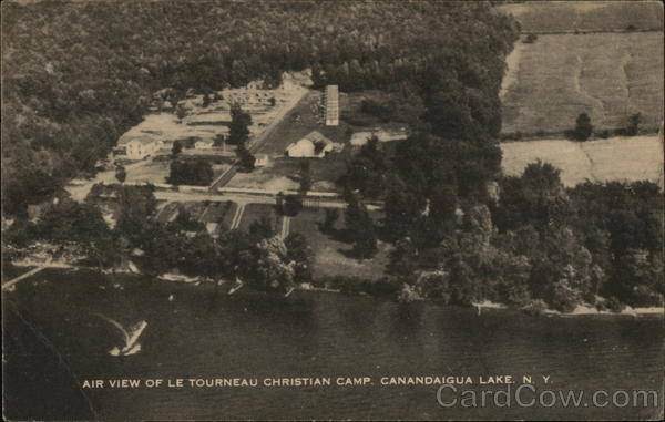 Aerial View of Le Tourneau Christian Camp Canandaigua New York