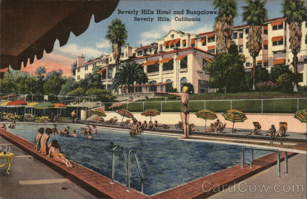 Beverly Hills Hotel and Bungalows California