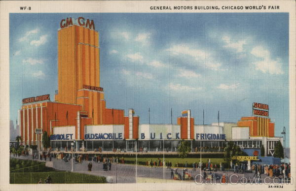 General Motors Building, Chicago World's Fair Illinois