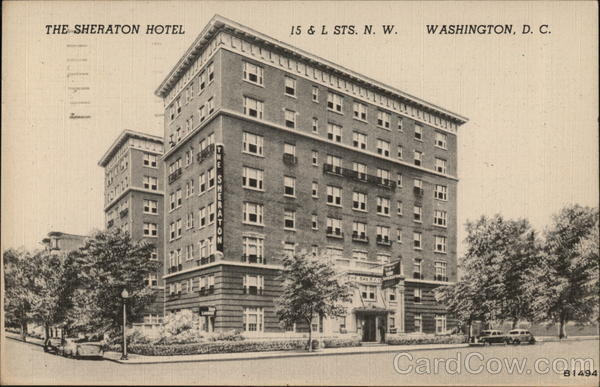 The Sheraton Hotel Washington District of Columbia