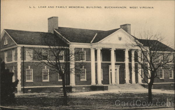 L L Loar and Family Memorial Building Buckhannon West Virginia