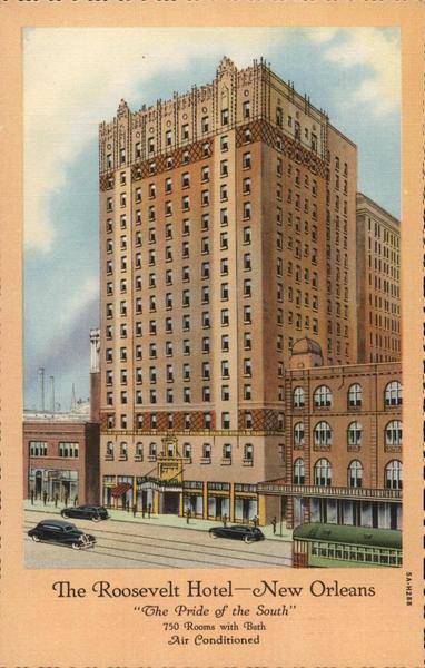 The Roosevelt Hotel New Orleans, LA Postcard
