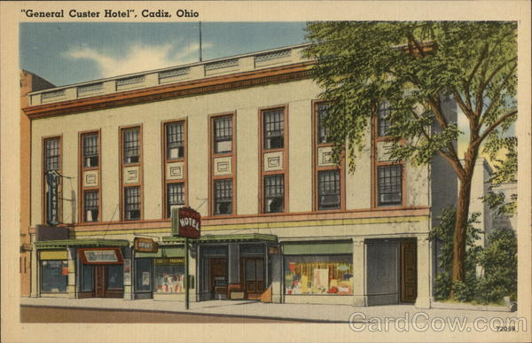 General Custer Hotel Cadiz Ohio