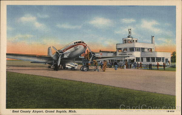 Kent County Airport Grand Rapids Michigan Airports