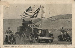 Modern Mounts of the U.S. Calvary, Mechanization is the New Watchword