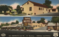 Swains Motel U.S. Highways 66 & 95...511 Broadway