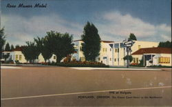 Rose Manor Motel 99E at Holgate The Finest Court Hotel in the Northwest