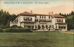 Summer Home of Mr. A. Atwater Kent