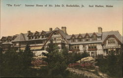 """The Eyrie"" Summer Home of Mr. John D. Rockefeller, Jr. Postcard"