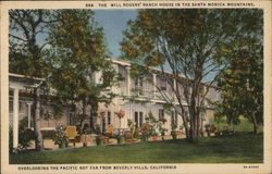 The Will Rogers' House