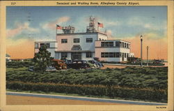 Terminal and Waiting Room, Allegheny County Airport