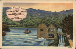Replica of First Rutledge & Cameron Mill