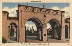 Rosary Portico, Franciscan Monastery