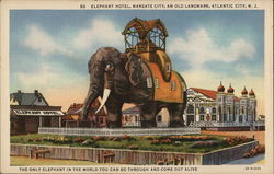 Elephant Hotel, Margate City, an Old Landmark