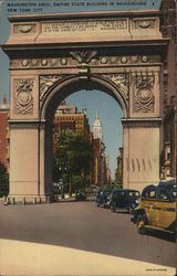 Washington Arch, Empire State Building