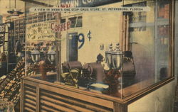 A View In Webb's One Stop Drug Store - Coffee Roasting